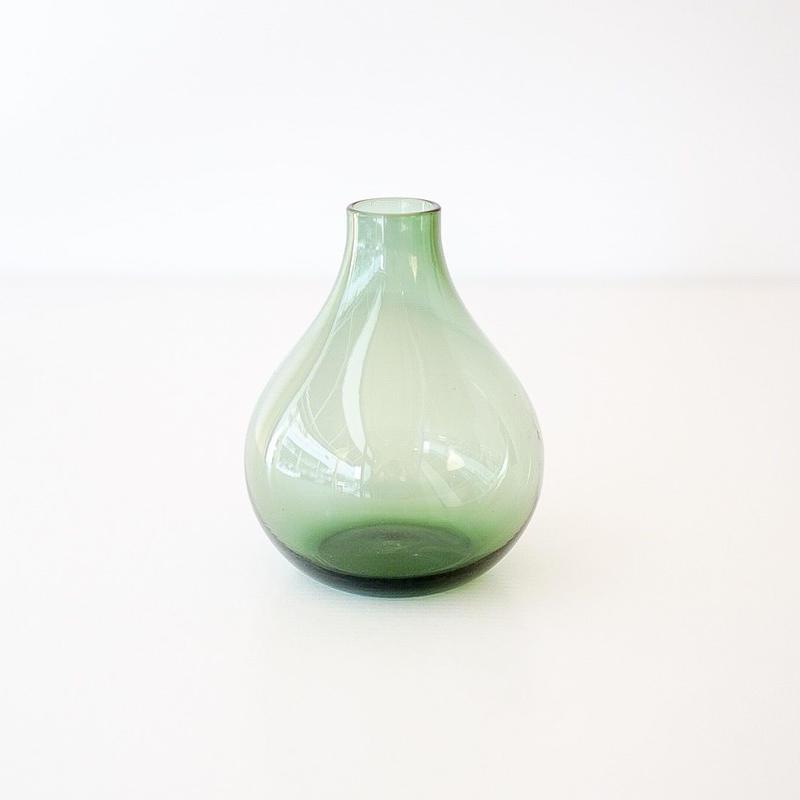 GLASSフラワーベース ノーブル green