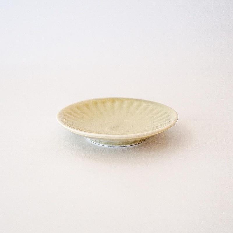 シュケル   豆皿 イエロー