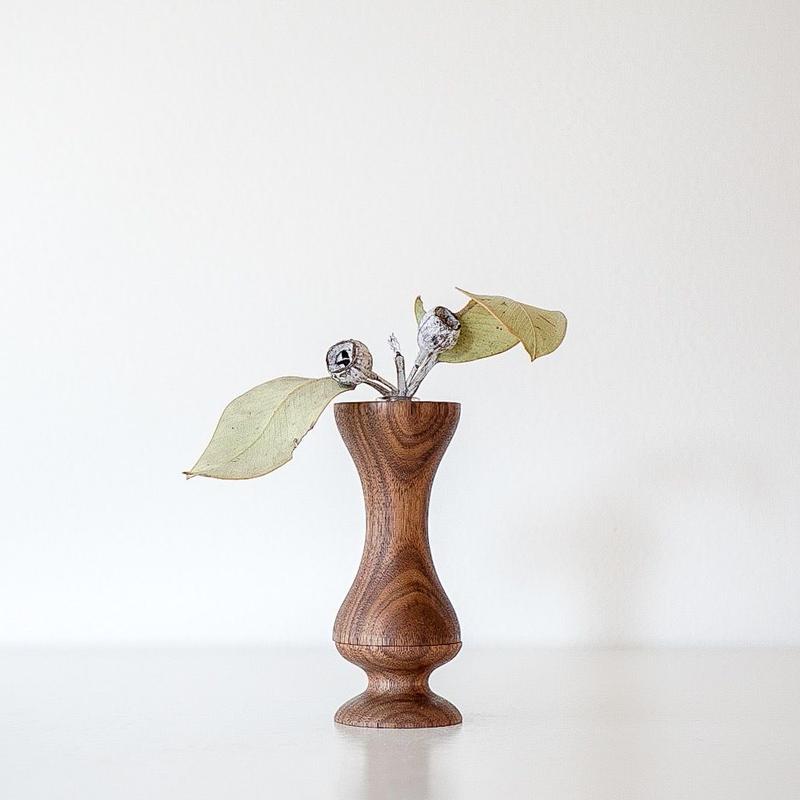 flower vase ウォールナット small