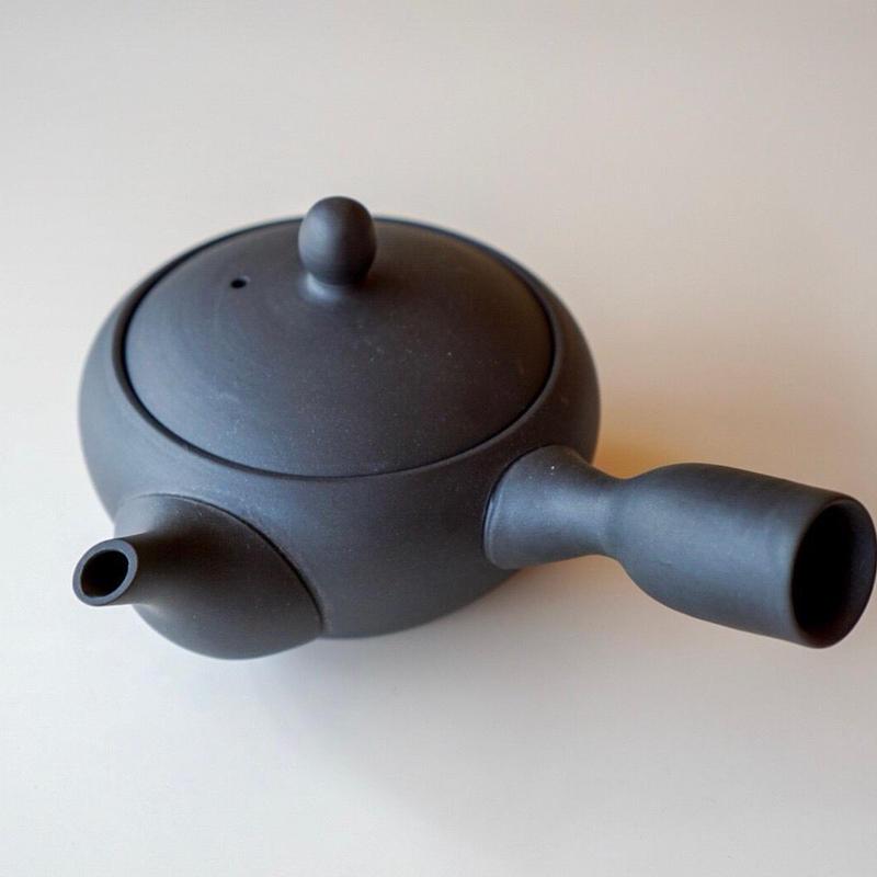 ステンレスアミ急須  鉄鉢