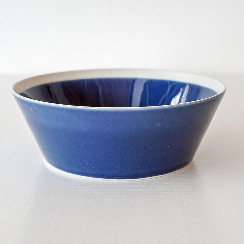 iihoshi yumiko    dishes   ボウル L ink blue