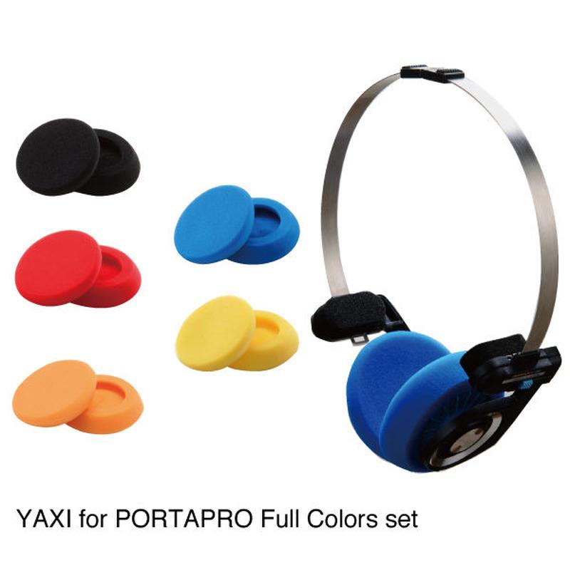 YAXI for PORTAPRO フルカラーセット(5色)ポスター付き