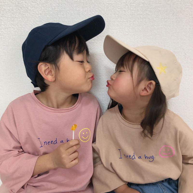 【3色展開】I need a hug ロンT