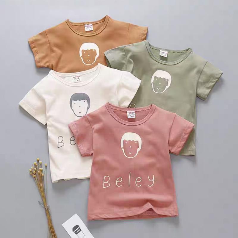 【4色展開】男の子イラストTシャツ