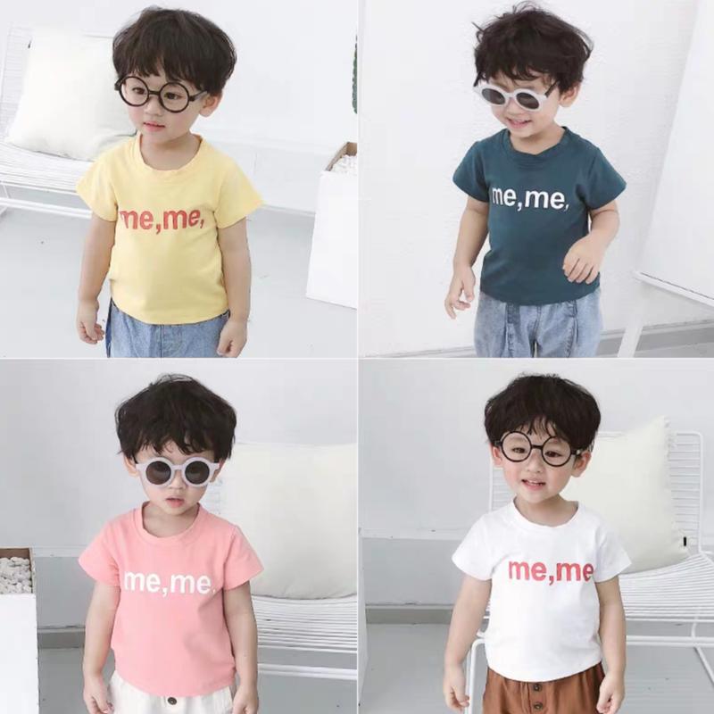 【4色展開】me,me,半袖Tシャツ