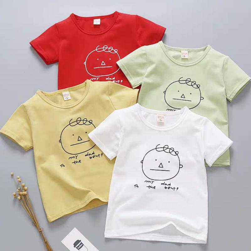 【4色展開】my dad ラクガキ風Tシャツ