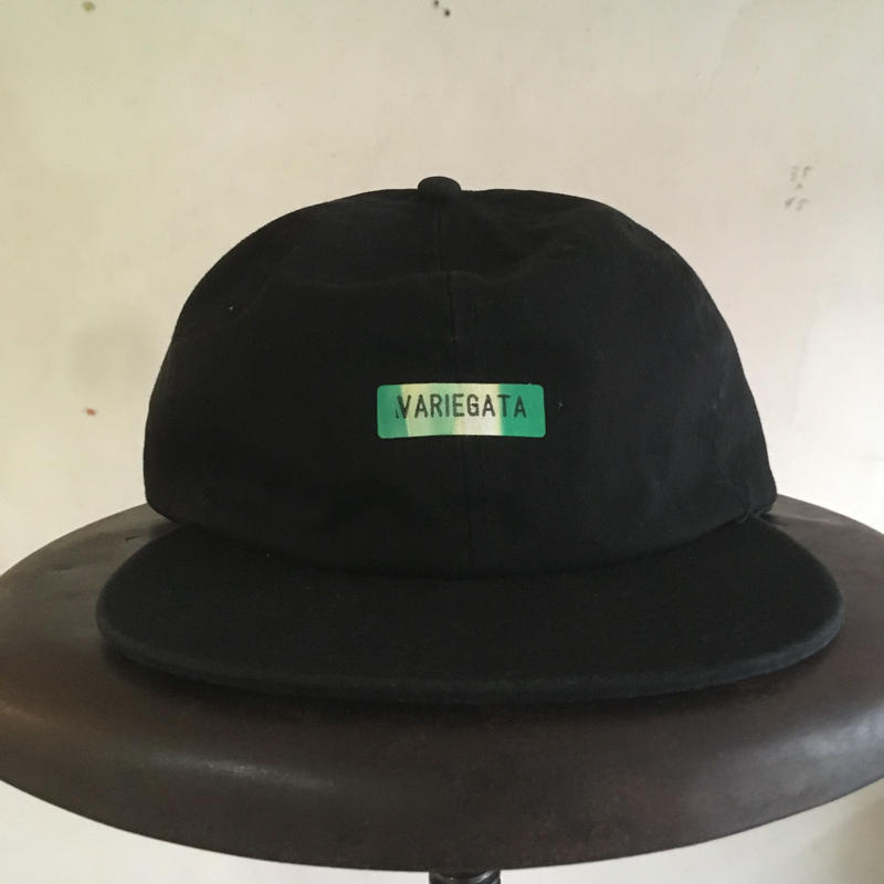 014 VARIEGATA CAP Black