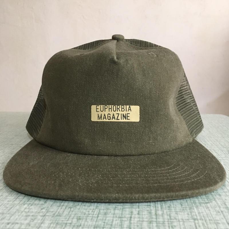 028 Euphorbia Magazine Mesh Hat