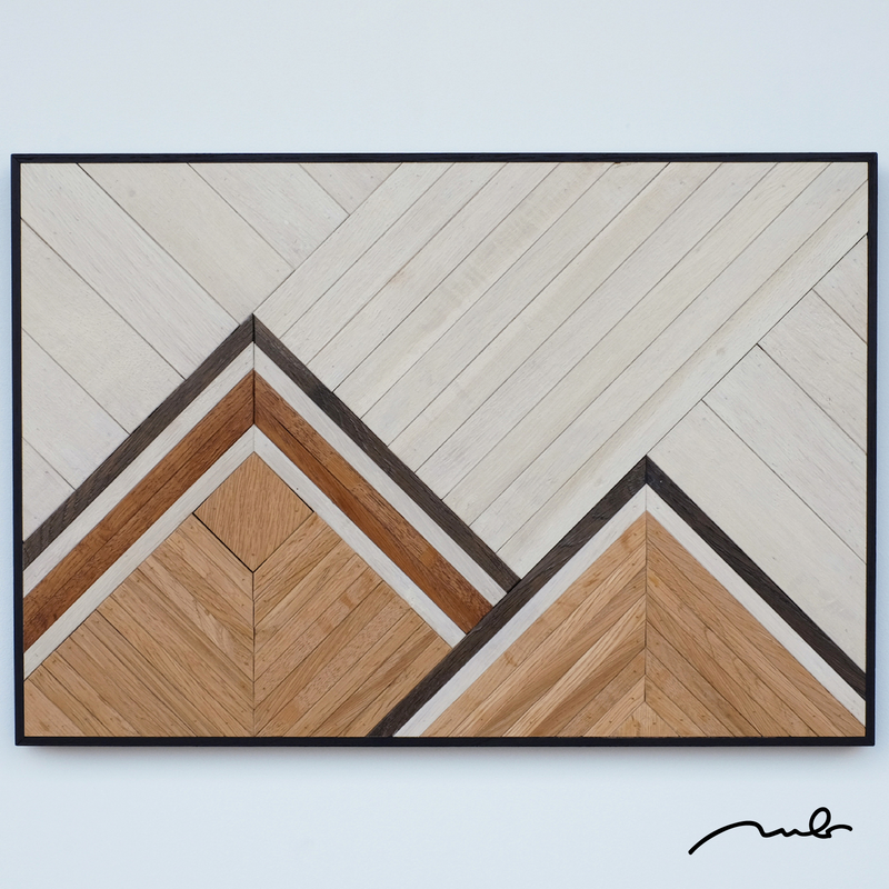 wall decor - mountain