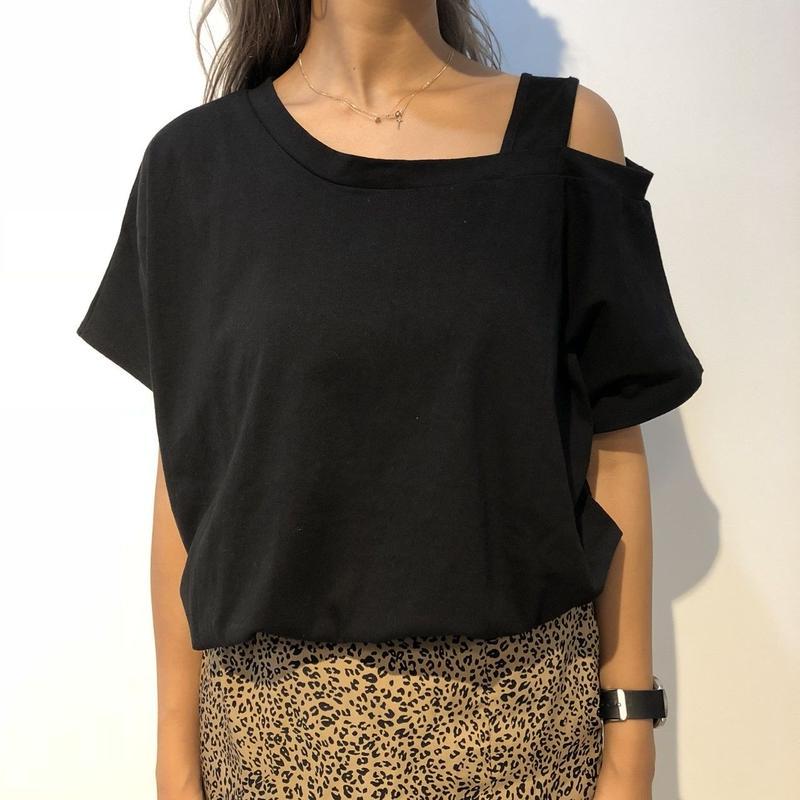 shoulder design T-shirts