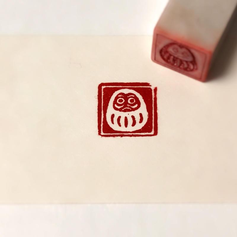 『達磨  -DARUMA-』          Japanese lucky symbol