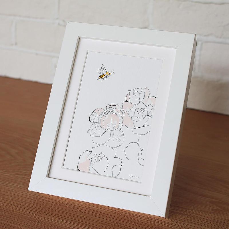 Rose&bee