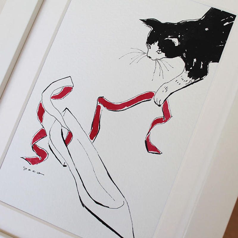 Cat&ballet shoes