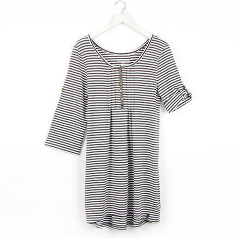 テンセルTunic:Simple Stripe