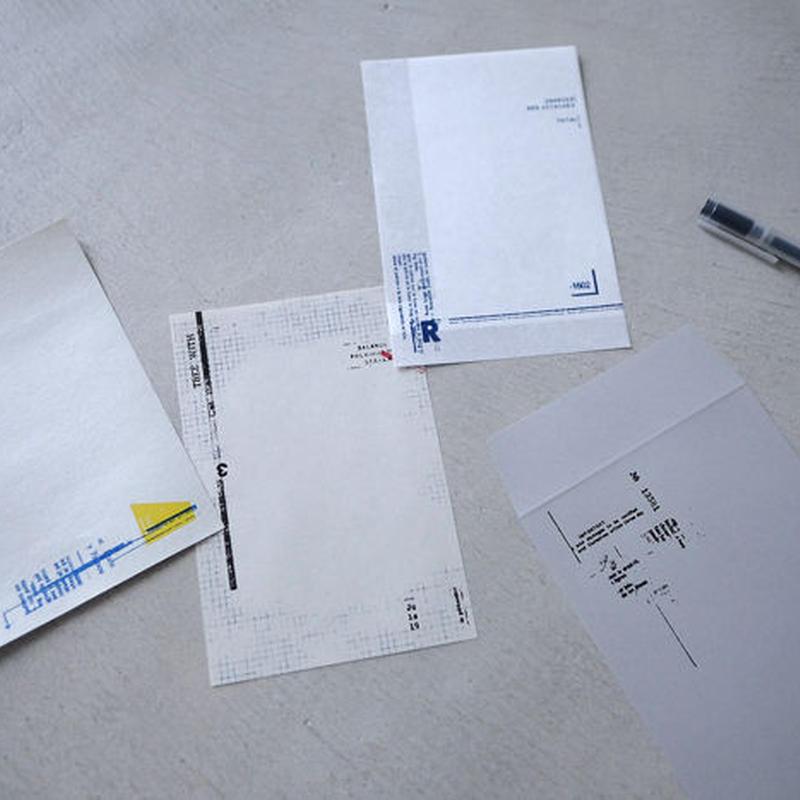 M-001 いろいろな紙のメモセット