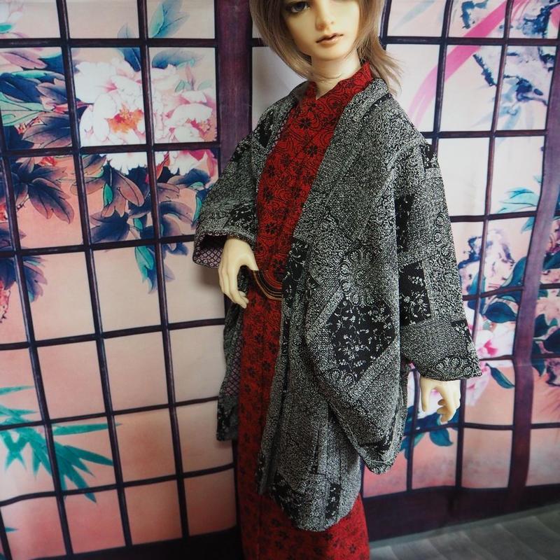 SD17少年 羽織セット【吽】