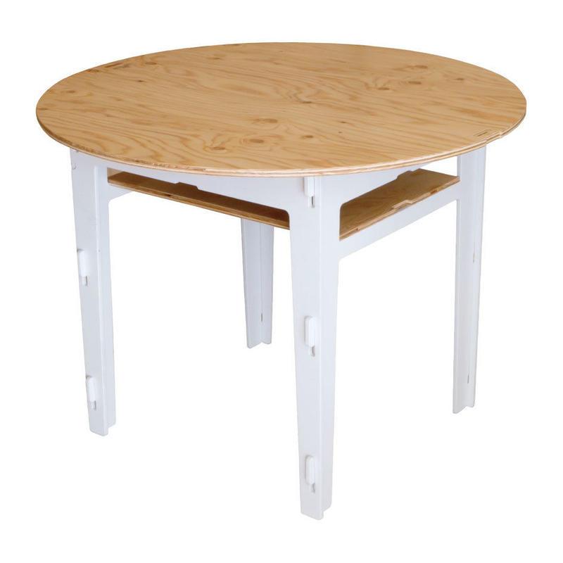 【無料レンタル】BASIC TABLE 600 丸天板