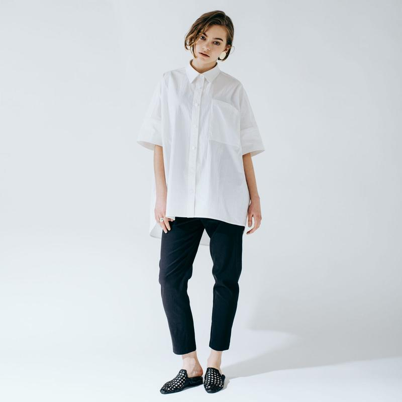 big box shirt (white)