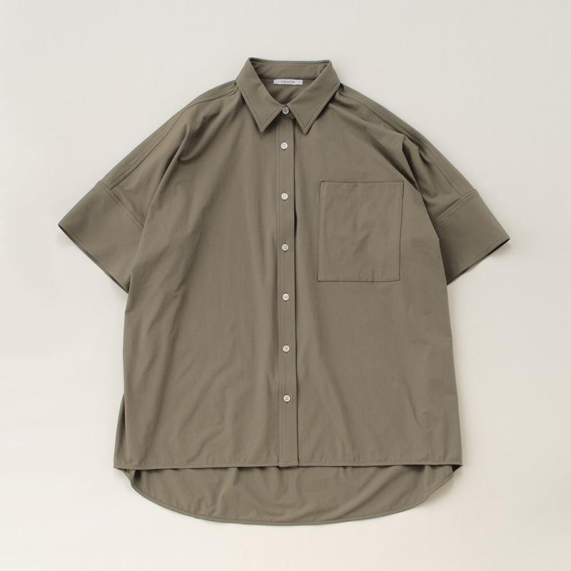 big box shirt (khaki)