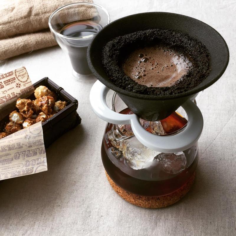 224 porcelain 紙不要コーヒードリッパー【CAFFE HAT】