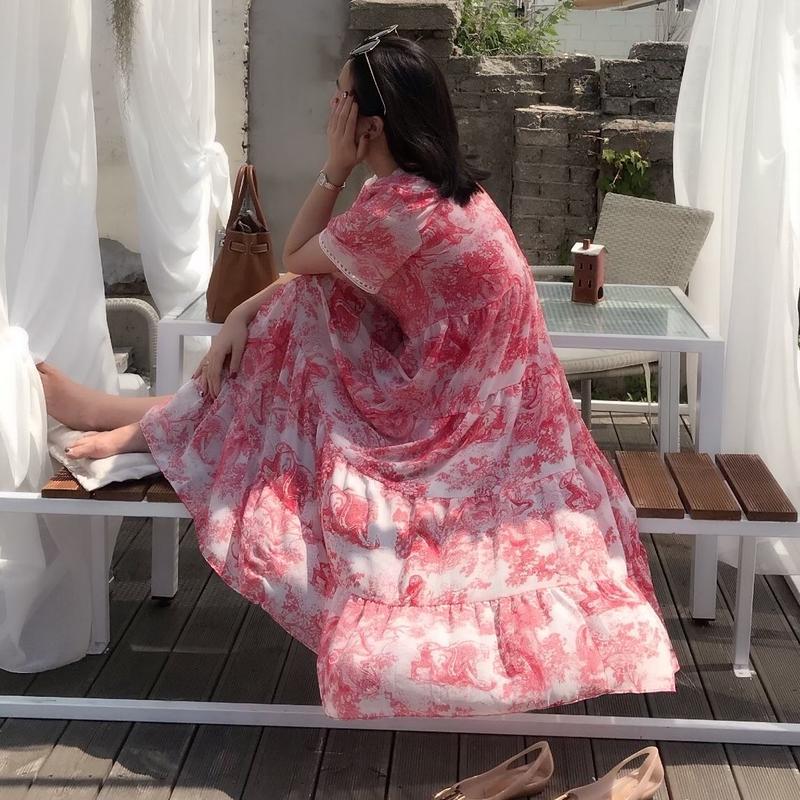 【令和特別商品10%OFF】シャングリラレディの休日ワンピース【ユヒャンオススメ】