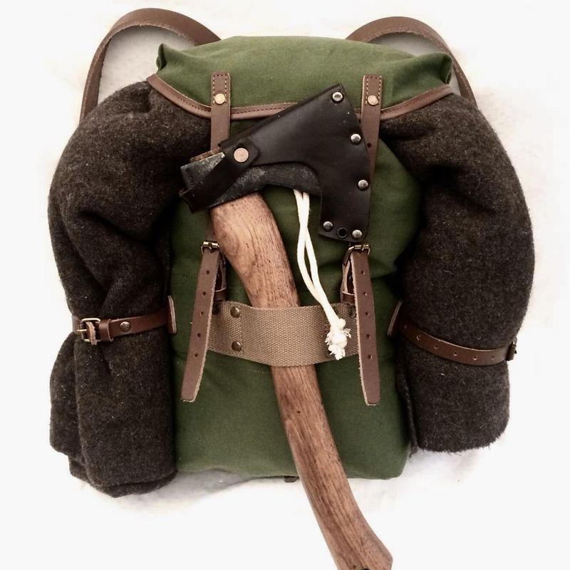 キャンバス パトロール バックパック (ノルウェー軍 ミリタリー アーミー)