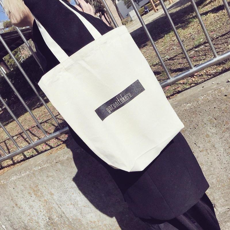 【tote bag】box logo tote bag