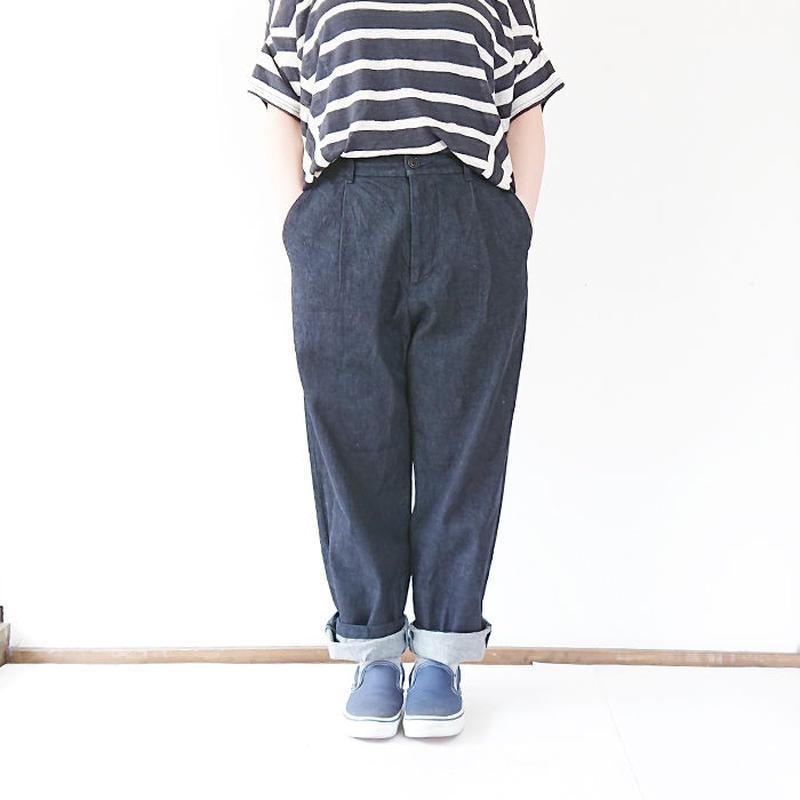 送料無料*ユニセックス*LA MOND.★ラモンド★デニムトラウザー One-Wash(LM-P-050)