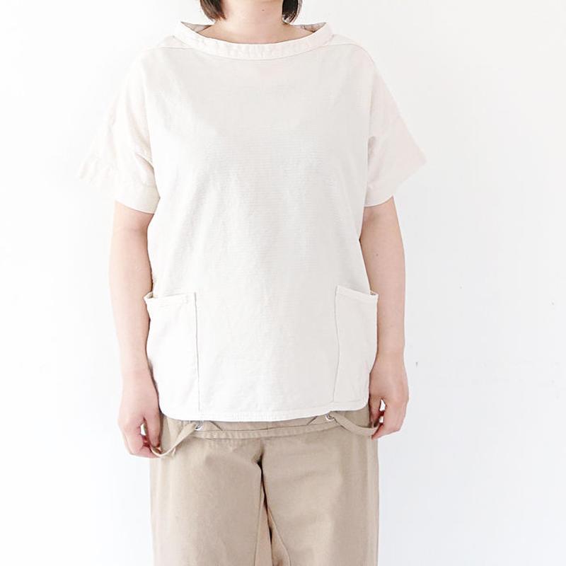 送料無料*レディース*OMNIGOD★オムニゴッド★コットンカラミ ショートスリーブガーデナーシャツ