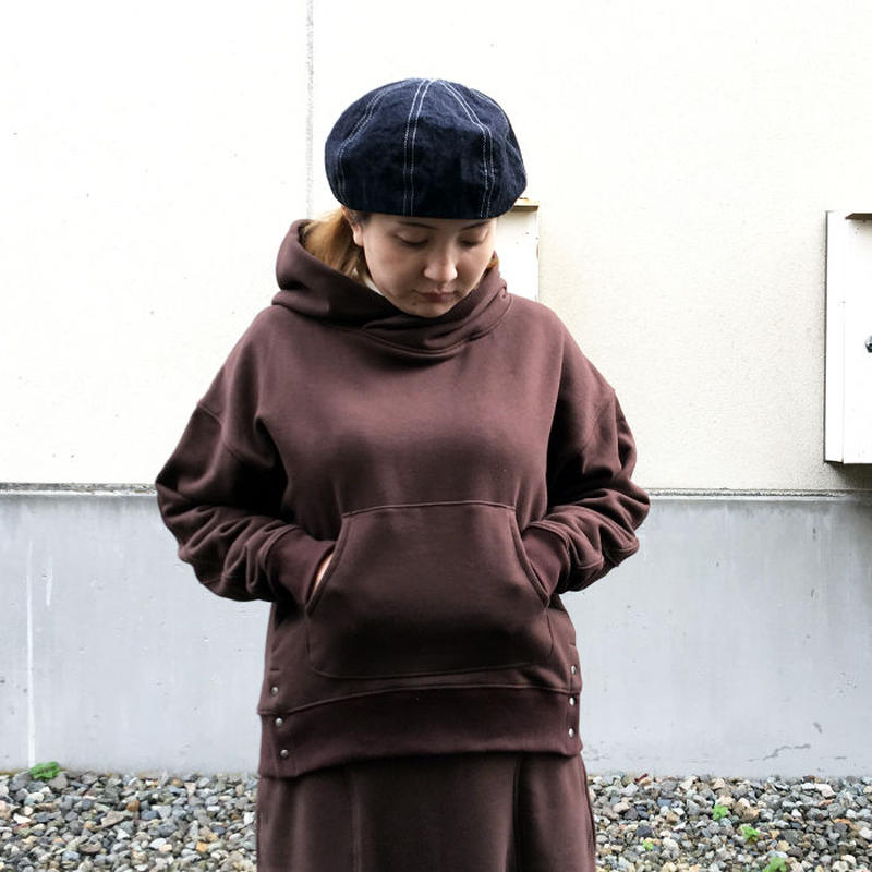 "Kelen★ケレン★ ボリュームネックデザインパーカー""Kef""(LKL18WBL6)"