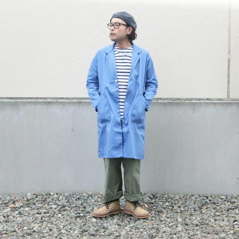*ユニセックス*NAPRON★ナプロン★ATELIER WORK COAT(BLUE)