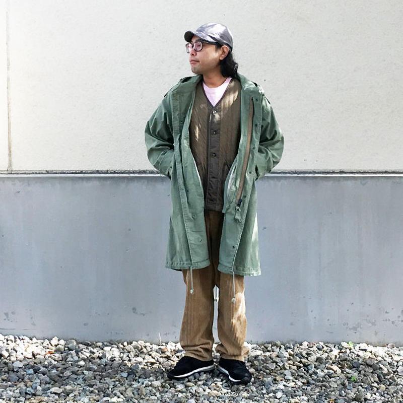 *メンズ&レディース*MASTER&Co★マスターアンドコー★ワイドシルエット モッズコート(男性着用)