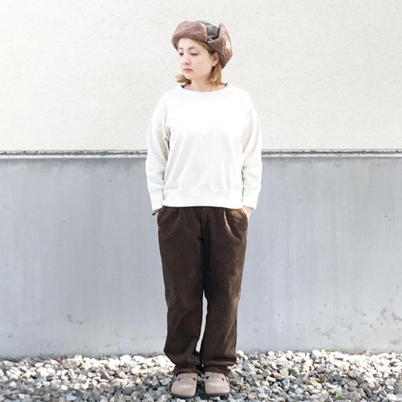 メンズ&レディース*COMMON EDUCATION★コモンエディケーション★CHILL CHINO PANT CORDUROY(ブラウン)