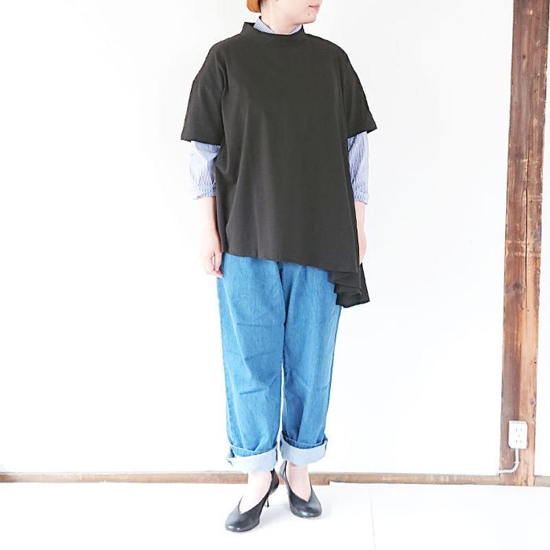 送料無料*ユニセックス*LA MOND.★ラモンド★デニムトラウザー BLUE(LM-P-050)