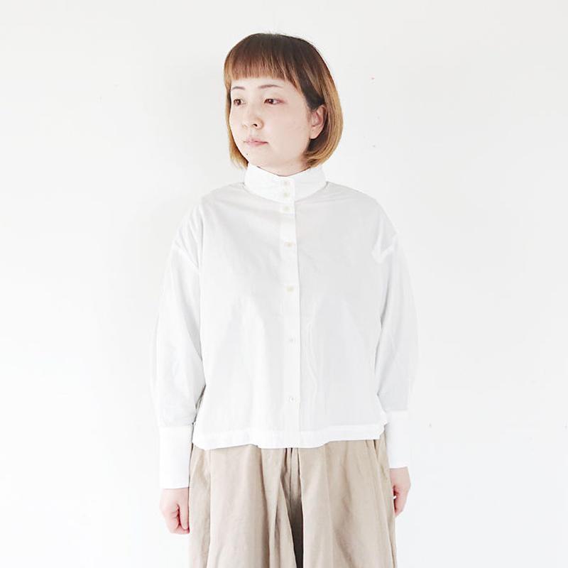 *レディース*SETTO-セット-OKKAKE SHIRT オッカケシャツ/ホワイト