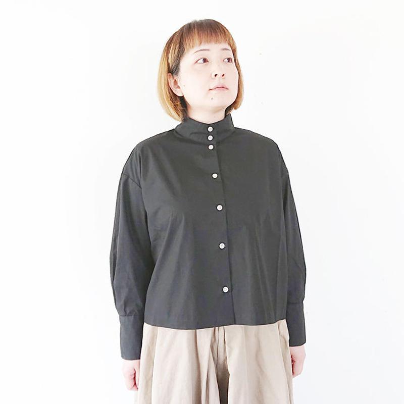 *レディース*SETTO-セット-OKKAKE SHIRT オッカケシャツ/ブラック