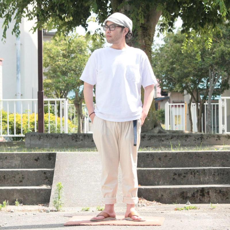 ユニセックス*DE-NA-LI★デナリ★Tuck Tapered Pants(18S-1081)