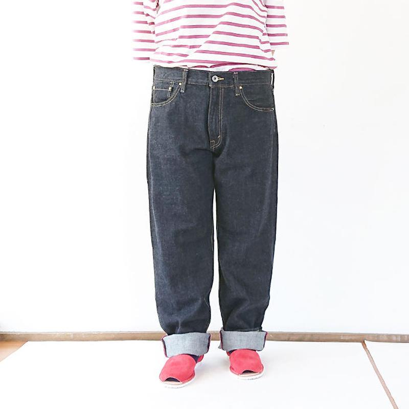 送料無料*ユニセックス*15★jyugo★5ポケットデニム(LOT002-N)