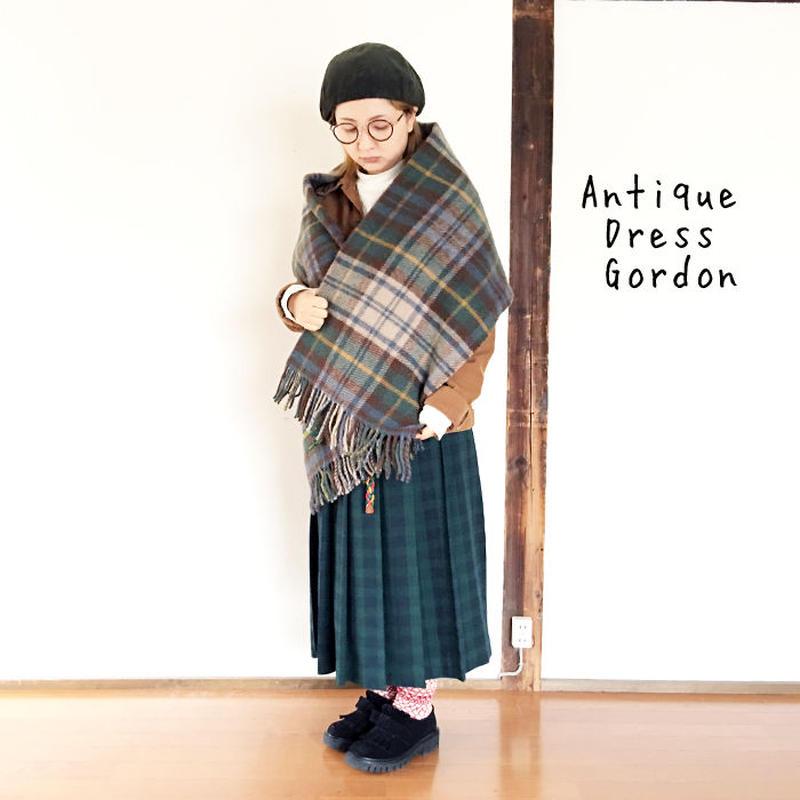 *goods*TWEEDMILL★ツウィードミル★ストール 大判 ブランケット(Antique  Dress  Gordon)