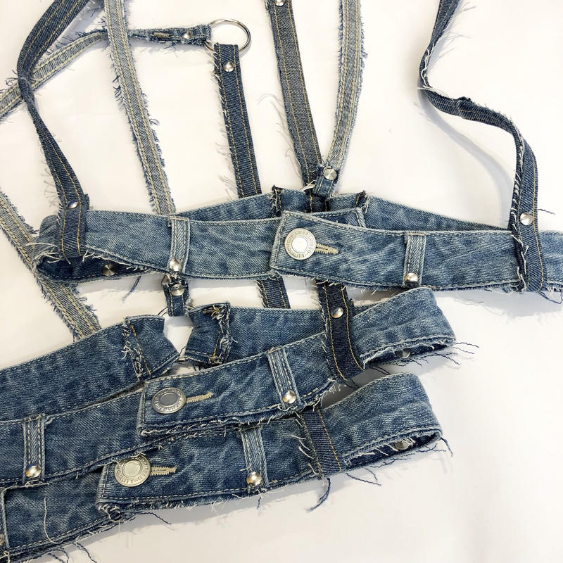 REMAKE DENIM HARNESS