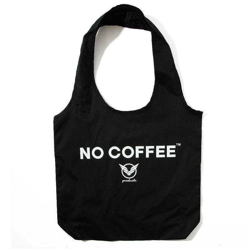 NO COFFEExYOSHIDAROBERTOショッピングバッグ(ブラック)