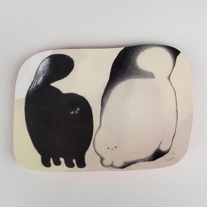 [ moritaMiW ] ポストカード (8) ヤミコとヒカリコ