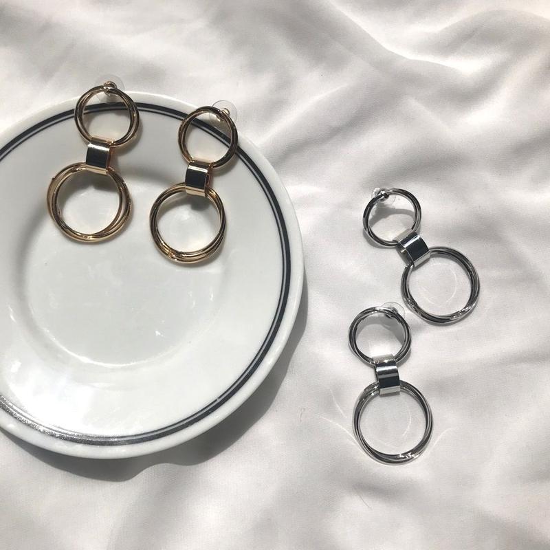double ring pierce