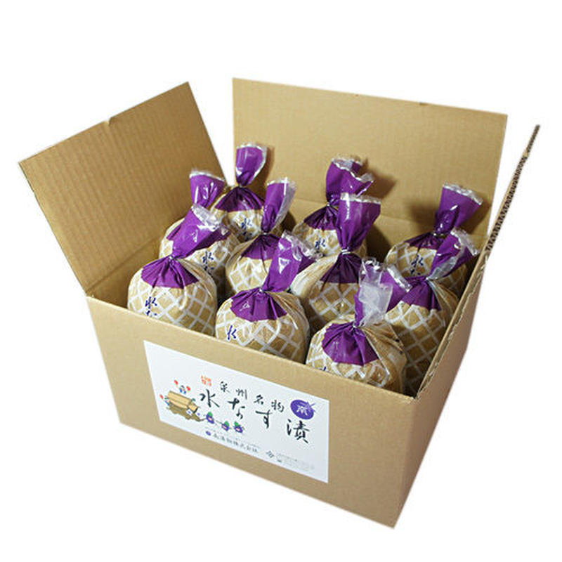 【B1】B級グルメ水なすの浅漬(ぬか漬)(わけあり)(10個包装入)<熨斗不可>ご注文日~10日程度で出荷