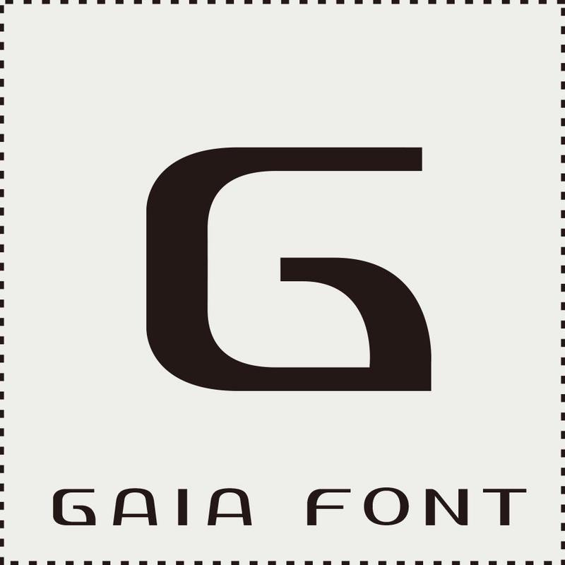 GAIA FONT (ガイア フォント)