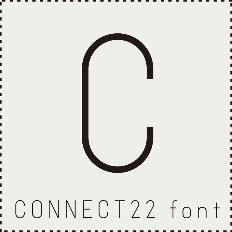 CONNECT22 font(コネクト22フォント)