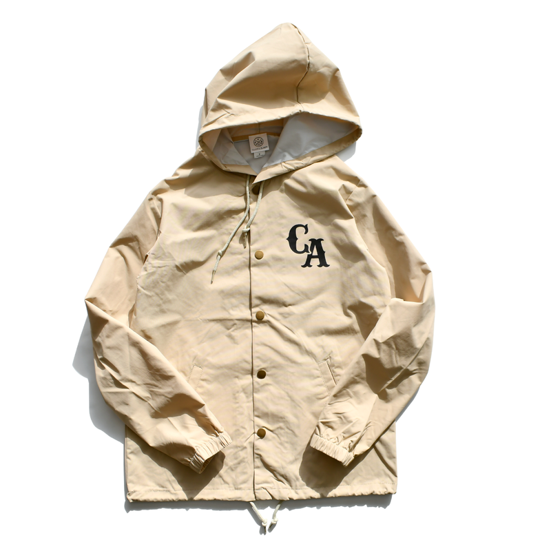 Hooded Coaches Jacket【Classic Khaki】