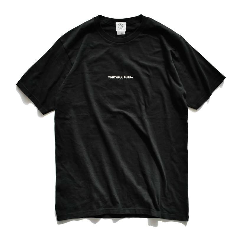 The best wave for surfing Tee  【Black】
