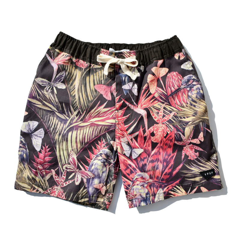 YFSF  Original  Board Shorts【Vintage Botanical】