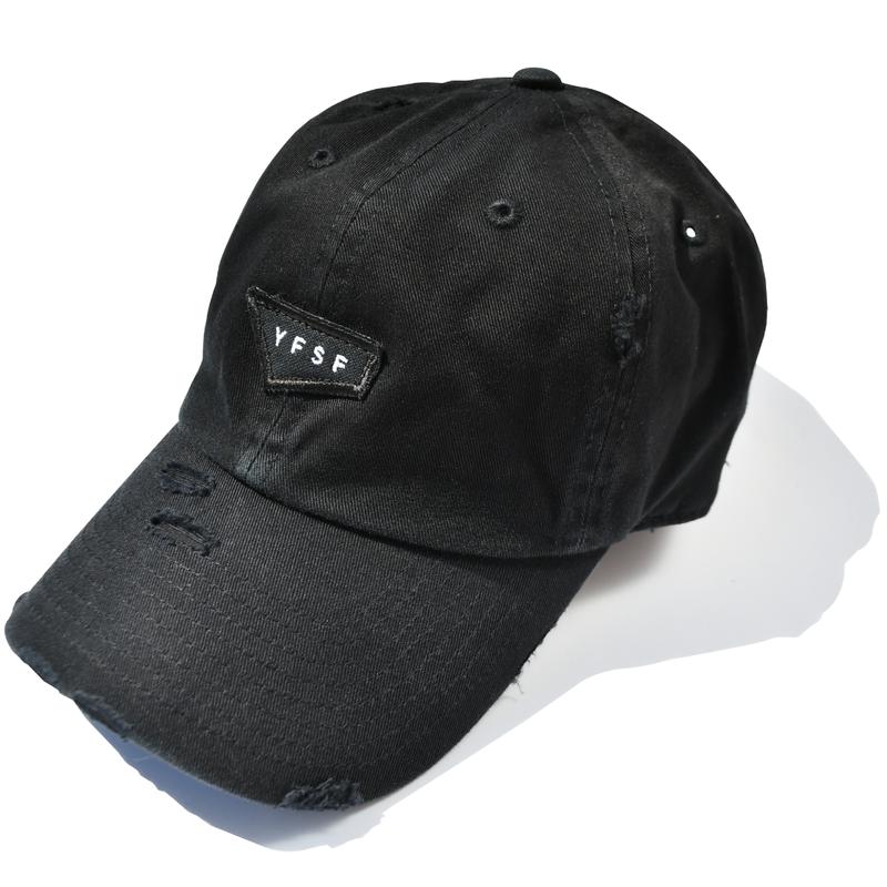 YFSF Patch Damage Cap【Black】